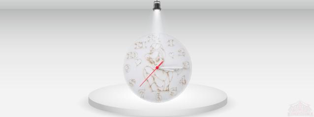 Clock Sand Art
