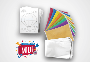 Midi Sand Art Kit - Small Size Sand Painting Card